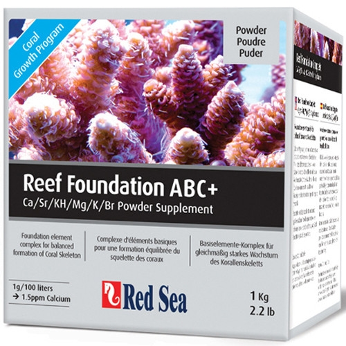 Conditioner apa marina Red Sea Reef Foundation ABC+ - 1kg
