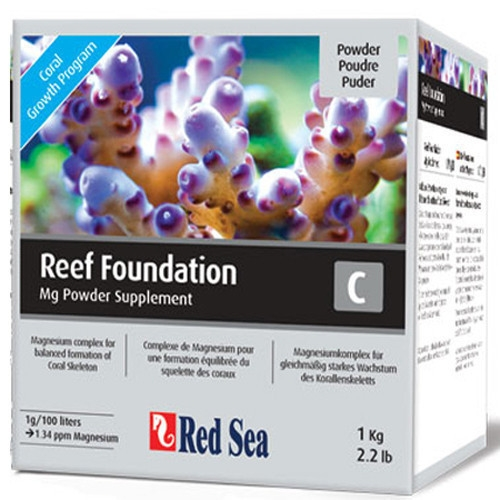 Conditioner apa marina Red Sea Reef Foundation C (Mg) – 1 Kg