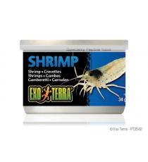 Hrana pentru reptile Hagen Exo Terra Canned Shrimps - 34 g